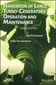 Handbook Of Large Turbo-generators Operation And Maintenance - Klempner, Geoff/ Kerszenbaum, Isidor - ISBN: 9781119389767