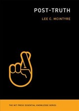Post-truth - Mcintyre, Lee (center For Philosophy And History Of Science) - ISBN: 9780262535045