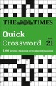 Times Quick Crossword Book 21 - The Times Mind Games - ISBN: 9780008173890