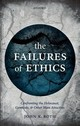 Failures Of Ethics - Roth, John K. (edward J. Sexton Professor Emeritus Of Philosophy, Claremont... - ISBN: 9780198785200