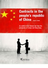 Contracts in the People's Republic of China  - Jacques Herbots - ISBN: 9782874034961