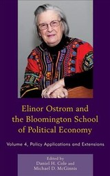 Elinor Ostrom And The Bloomington School Of Political Economy - Cole, Daniel H. (EDT)/ McGinnis, Michael D. (EDT) - ISBN: 9780739191132