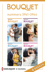 Bouquet e-bundel nummers 3941 - 3944 - Sharon  Kendrick - ISBN: 9789402534528