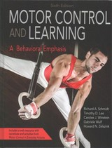 Motor Control And Learning 6th Edition With Web Resource - Schmidt, Richard - ISBN: 9781492547754