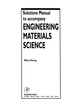 Solutions Manual to accompany Engineering Materials Science - Ohring, Milton - ISBN: 9780080572086