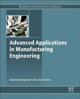 Advanced Applications in Manufacturing Enginering - ISBN: 9780081024140