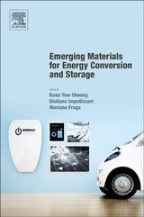 Emerging Materials for Energy Conversion and Storage - ISBN: 9780128137949