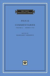 Commentaries, Volume 3 - Pius II - ISBN: 9780674058385