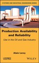 Production Availability And Reliability - Leroy, Alain - ISBN: 9781786301680