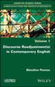Discourse Re-adjustments In Contemporary English - Pennec, Blandine - ISBN: 9781786302823