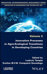 Innovation Processes In Agro-ecological Transitions In Developing Countries - Temple, Ludovic/ Sawadogo, Eveline Compaore - ISBN: 9781786302724