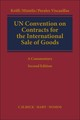 UN Convention on Contracts for the International Sale of Goods (CISG) - Kröll, Mistelis, Perales Viscasillas - ISBN: 9783406714559