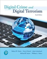 Cyber Crime And Cyber Terrorism - Tafoya, William L.; Saylor, Michael R.; Fritsch, Eric J; Taylor, Robert W. - ISBN: 9780134846514