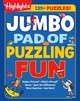Jumbo Pad Of Puzzling Fun - Highlights for Children (COR) - ISBN: 9781629796178