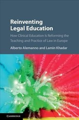 Reinventing Legal Education - ISBN: 9781107163041