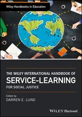 Wiley International Handbook Of Service-learning For Social Justice - Lund, Darren - ISBN: 9781119144366