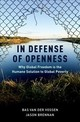 In Defense Of Openness - Van Der Vossen, Bas (assistant Professor Of Philosophy, Unc-greensboro); Br... - ISBN: 9780190462956