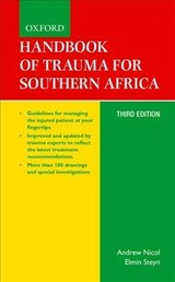 Handbook Of Trauma For Southern Africa - Nicol, Andrew (EDT)/ Steyn, Elmin (EDT) - ISBN: 9780190408282
