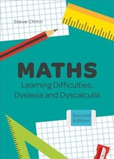 Maths Learning Difficulties, Dyslexia And Dyscalculia - Chinn, Steve - ISBN: 9781785925795