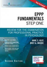 Eppp Fundamentals, Step One - Klee, Anne L. (EDT)/ Moore, Bret A. (EDT) - ISBN: 9780826188243