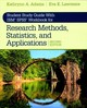 Student Study Guide With Ibm (r) Spss (r) Workbook For Research Methods, Statistics, And Applications 2e - Adams, Kathrynn A.; Lawrence, Eva K. - ISBN: 9781544318677