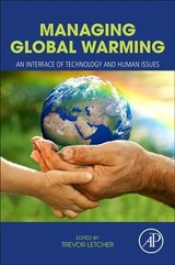 Managing Global Warming - Letcher, Trevor M. - ISBN: 9780128141045
