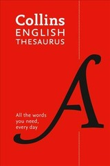 Collins English Paperback Thesaurus - Collins Dictionaries - ISBN: 9780008309459