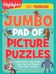Jumbo Pad Of Picture Puzzles - Highlights for Children (COR) - ISBN: 9781684372478