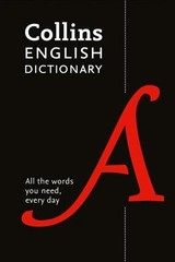 Collins English Paperback Dictionary - Collins Dictionaries - ISBN: 9780008309435