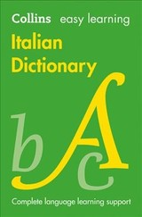 Easy Learning Italian Dictionary - Collins Dictionaries - ISBN: 9780008300272