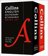 Collins English Dictionary And Thesaurus Boxed Set - Collins Dictionaries - ISBN: 9780008309725