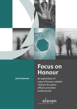Focus on Honour - Janine  Janssen - ISBN: 9789462748378