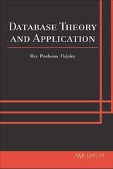 Database Theory And Application - Flejoles, Rex Porbasas - ISBN: 9781773612218