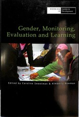 Gender, Monitoring, Evaluation And Learning - Sweetman, Caroline (EDT)/ Bowman, Kimberly (EDT) - ISBN: 9781788530033
