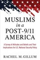 Muslims In A Post-9/11 America - Gillum, Rachel M. - ISBN: 9780472073870
