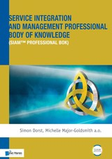 Service Integration and Management Professional Body of Knowledge - Claire  Dorst - ISBN: 9789401803038