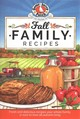 Fall Family Recipes - Gooseberry Patch - ISBN: 9781620932759