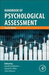 Handbook of Psychological Assessment - ISBN: 9780128022030