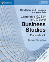 Cambridge Igcse (r) And O Level Business Studies Revised Coursebook - Fisher, Mark; Houghton, Medi; Jain, Veenu - ISBN: 9781108563987