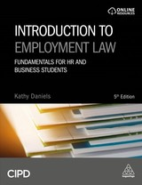 Introduction To Employment Law - Daniels, Kathy - ISBN: 9780749484149