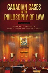 Canadian Cases In The Philosophy Of Law - Bickenbach, J. E. (EDT)/ Culver, Keith C. (EDT)/ Giudice, Michael (EDT) - ISBN: 9781554812714