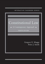 Constitutional Law - Maggs, Gregory; Smith, Peter - ISBN: 9781683281283