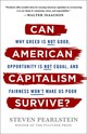 Can American Capitalism Survive? - Pearlstein, Steven - ISBN: 9781250185983