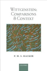 Wittgenstein: Comparisons And Context - Hacker, P. M. S. (st John's College, Oxford) - ISBN: 9780198823353