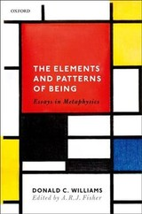 Elements And Patterns Of Being - Williams, Donald C. (deceased) - ISBN: 9780198810384