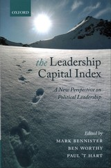 Leadership Capital Index - Bennister, Mark (EDT)/ Worthy, Ben (EDT)/ Hart, Paul ât (EDT) - ISBN: 9780198783848