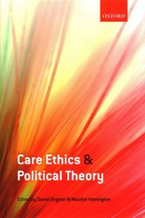 Care Ethics And Political Theory - Engster, Daniel (EDT)/ Hamington, Maurice (EDT) - ISBN: 9780198716341