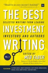 The Best Investment Writing - Faber, Meb - ISBN: 9780857196736
