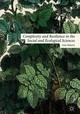 Complexity And Resilience In The Social And Ecological Sciences - Flaherty, Eoin - ISBN: 9781137549778