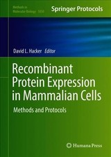 Recombinant Protein Expression In Mammalian Cells - Hacker, David L. (EDT) - ISBN: 9781493987290